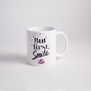 but first smile cup